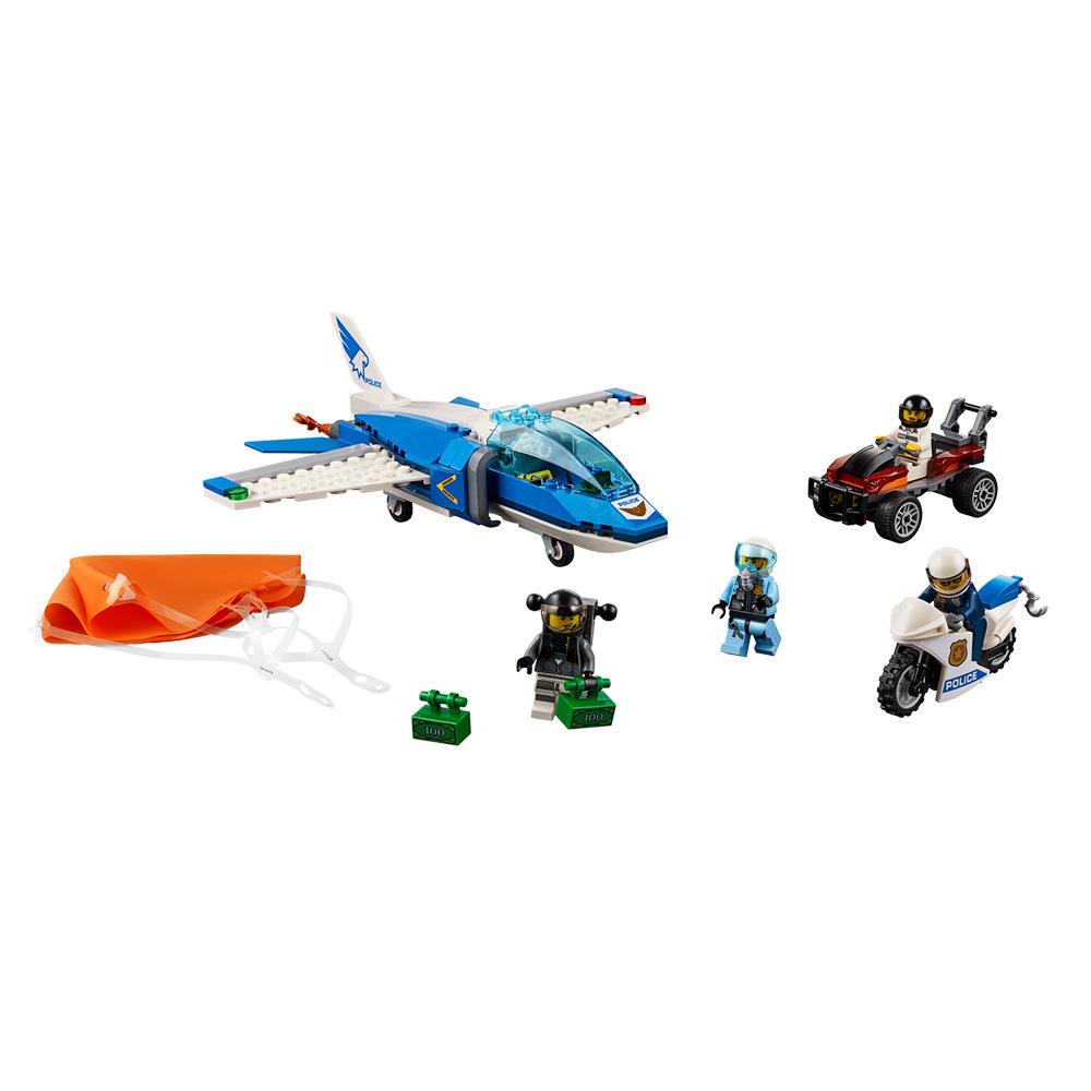 Купить Детские конструкторы, Конструктор LEGO City Воздушная полиция Арест с парашютом (60208)