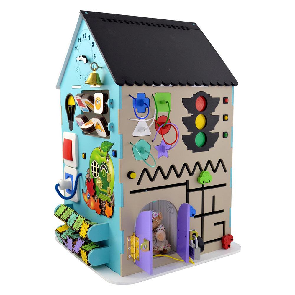 Розвивальні іграшки - Міні-ігровий комплекс Bona Mente Бізікуб Будинок  (4823720032221) 98b854d2790bf