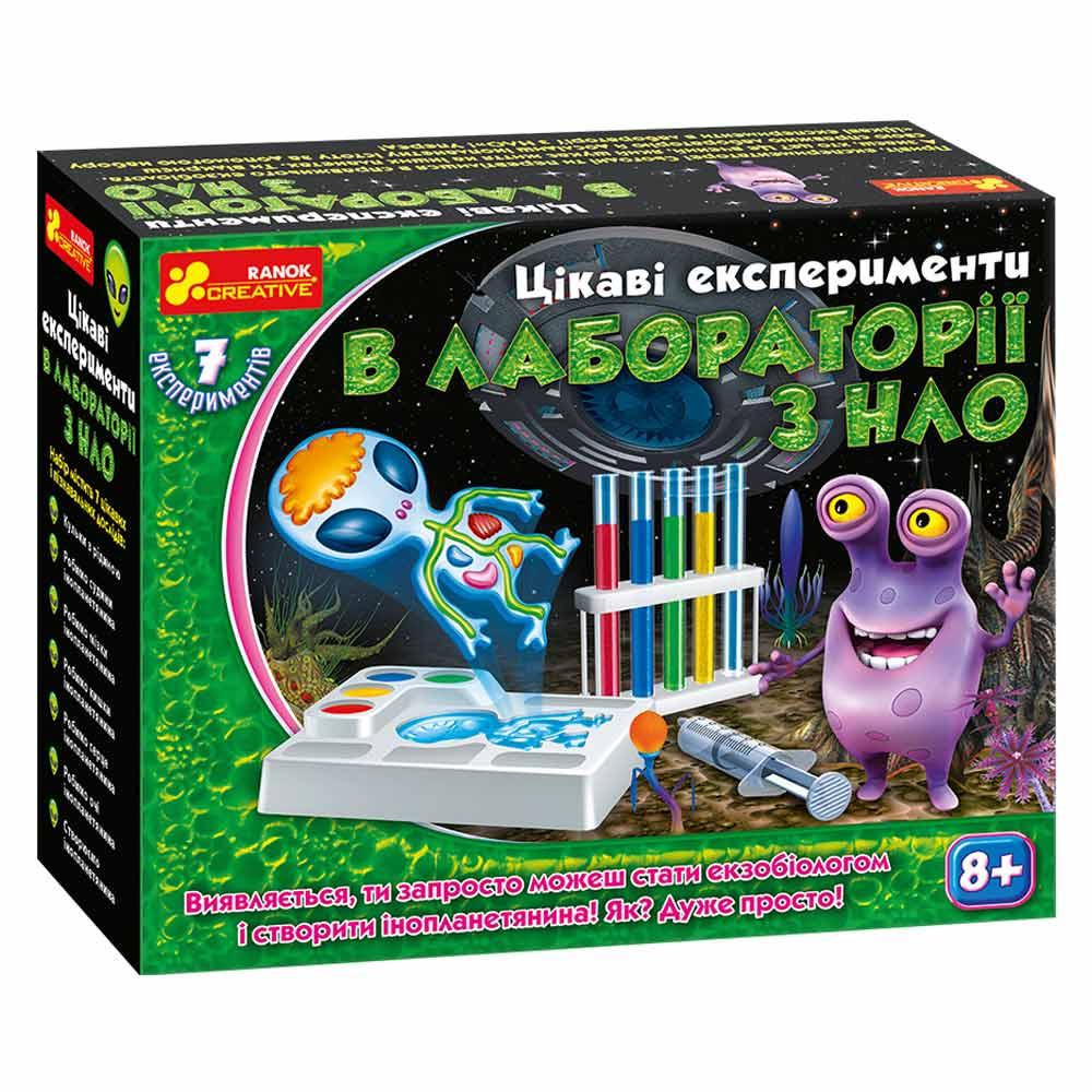 Купить Игровые наборы, Набор для опытов Ranok Creative В лаборатории с НЛО (12114097У)