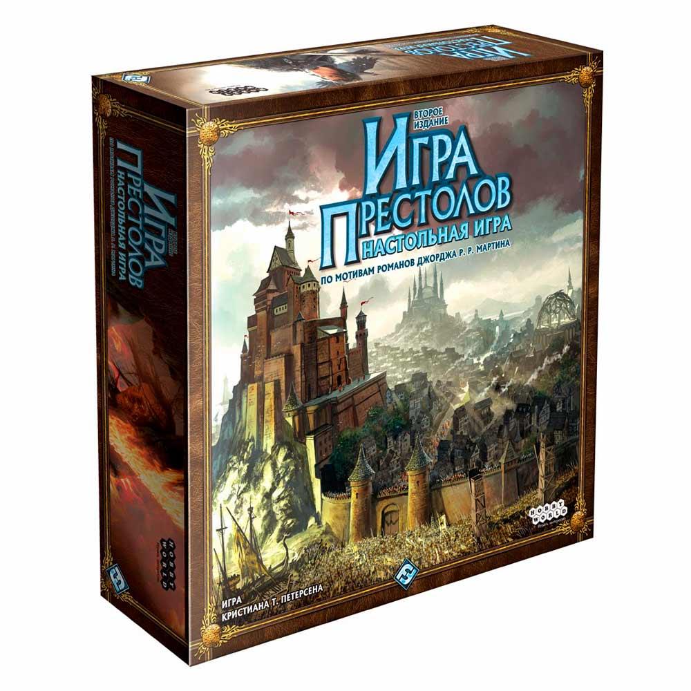Купить Настольные игры, головоломки, Настольная игра Hobby World Игра Престолов новая версия (1015)