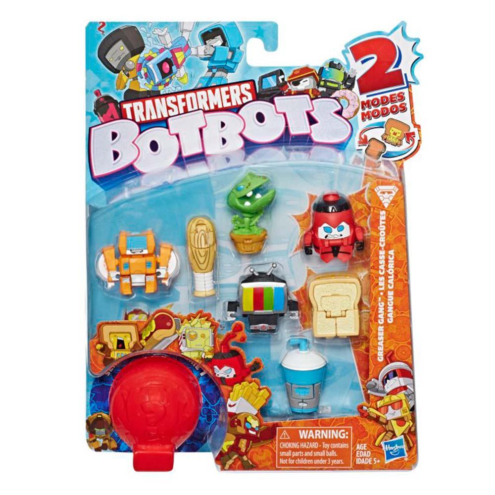 Игрушка-трансформер Transformers БотБотс Банда хулиганы (E3494/E4143) Hasbro