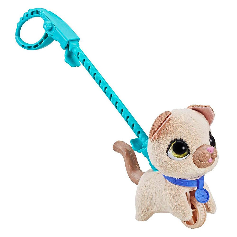 Інтерактивні м які тварини - Іграшка FurReal Friends Маленьке звірятко  Котик (E3503 E4766 3a10285fce8ab