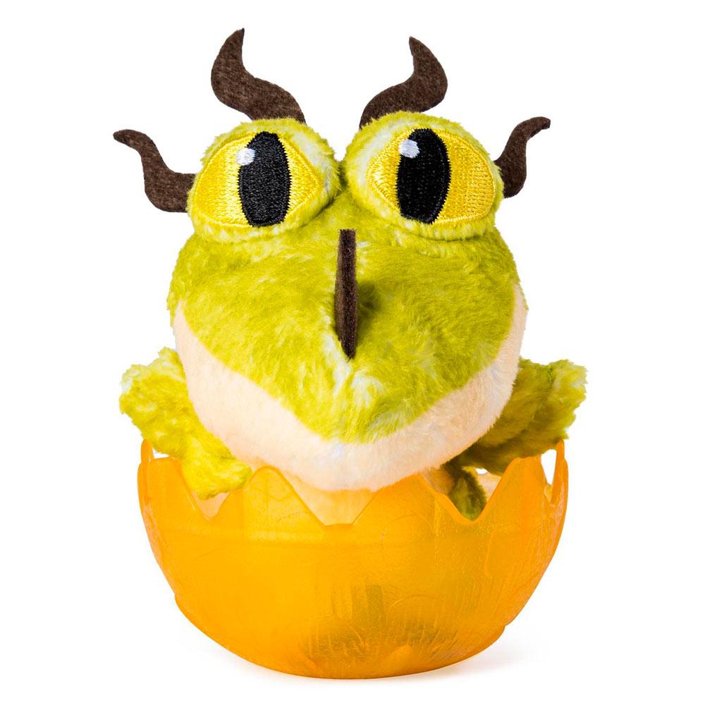 Купить Персонажи мультфильмов, игровые фигурки, Мягкая игрушка Dragons Как приручить дракона 3 Ночной ужас в яйце (SM66623/7564), Spin Master