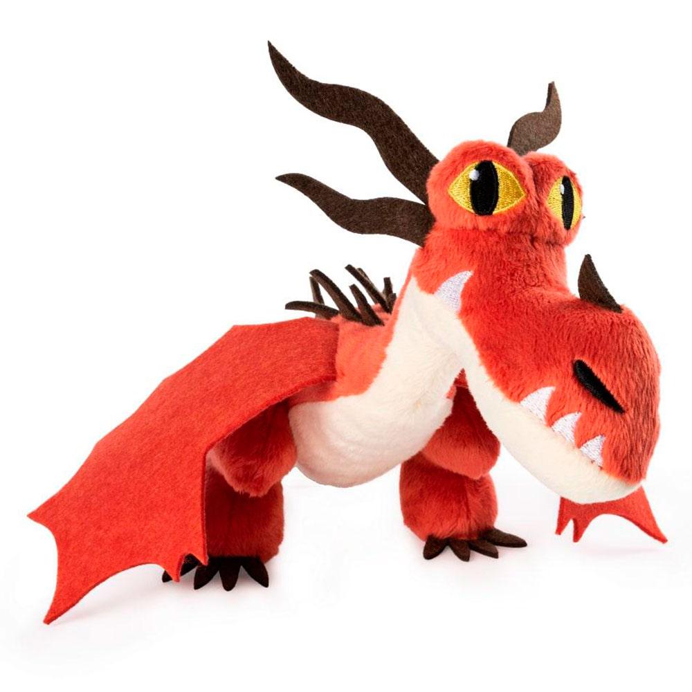 Купить Персонажи мультфильмов, игровые фигурки, Мягкая игрушка Dragons Как приручить дракона 3 Кривоклык (SM66606/1852), Spin Master