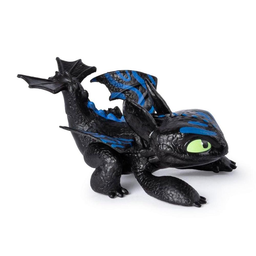 Купить Персонажи мультфильмов, игровые фигурки, Фигурка Dragons Как приручить дракона 3 светится под водой Беззубик (SM66628/7861), Spin Master