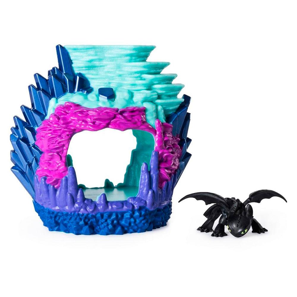 Купить Игровые наборы, Набор Dragons Как приручить дракона 3 Логово дракона Беззубика (SM66624/2101), Spin Master