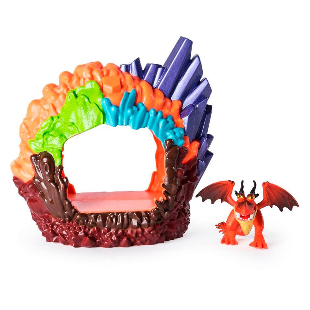 Купить Игровые наборы, Набор Dragons Как приручить дракона 3 Логово дракона Кривоклыка (SM66624/2118), Spin Master