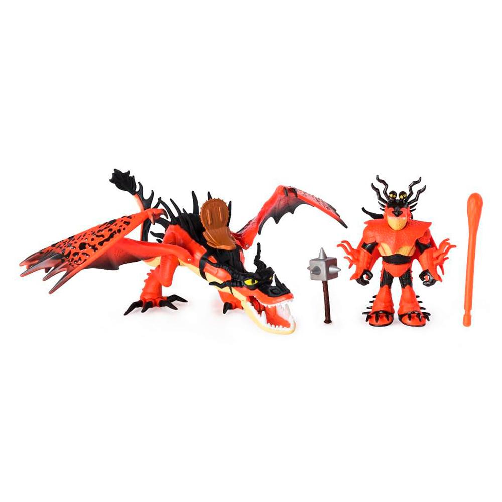 Купить Игровые наборы, Набор Dragons Как приручить дракона 3 Кривоклык и всадник Сморкал (SM66621/7328), Spin Master