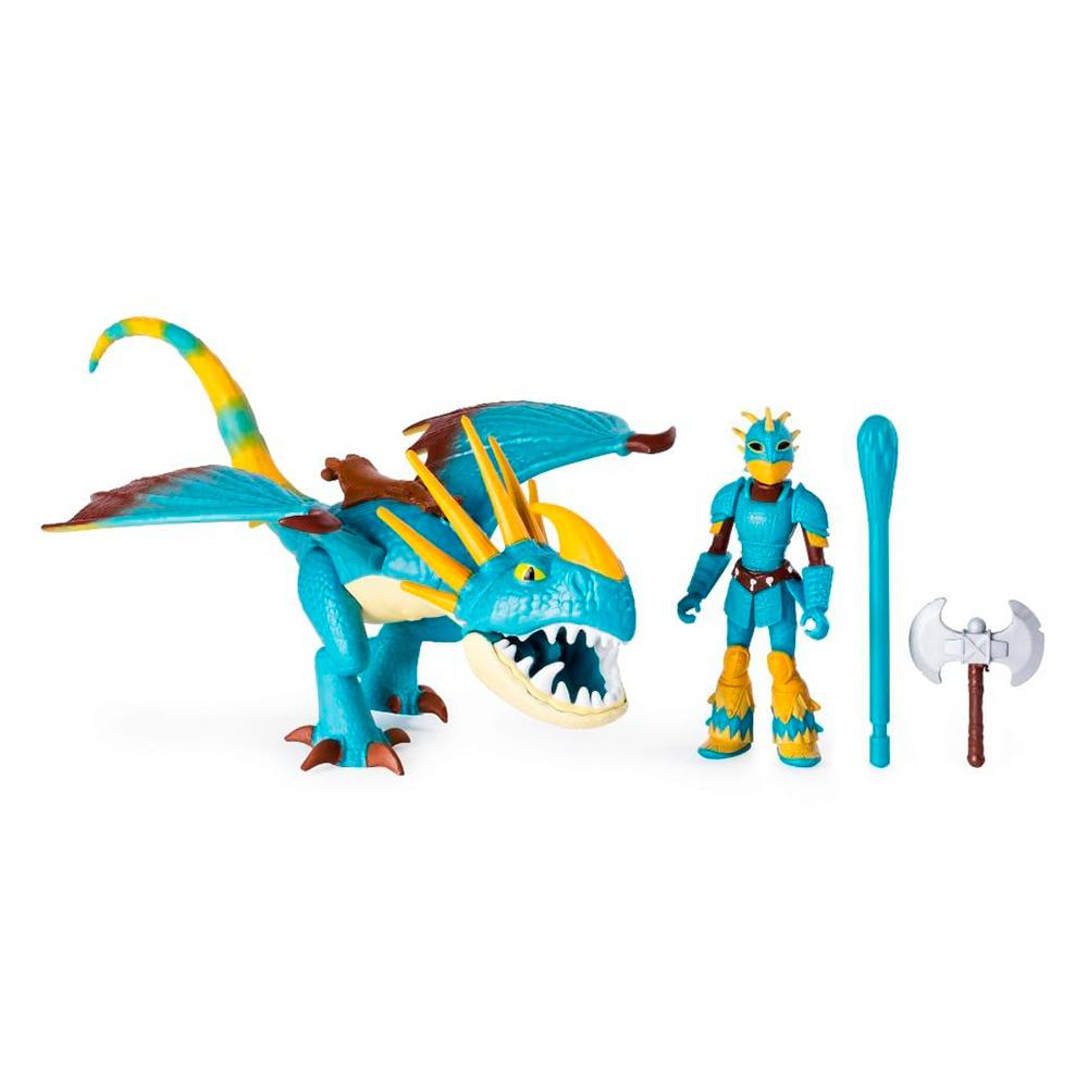 Купить Игровые наборы, Набор Dragons Как приручить дракона 3 Громгильда и всадник Астрид (SM66621/7335), Spin Master