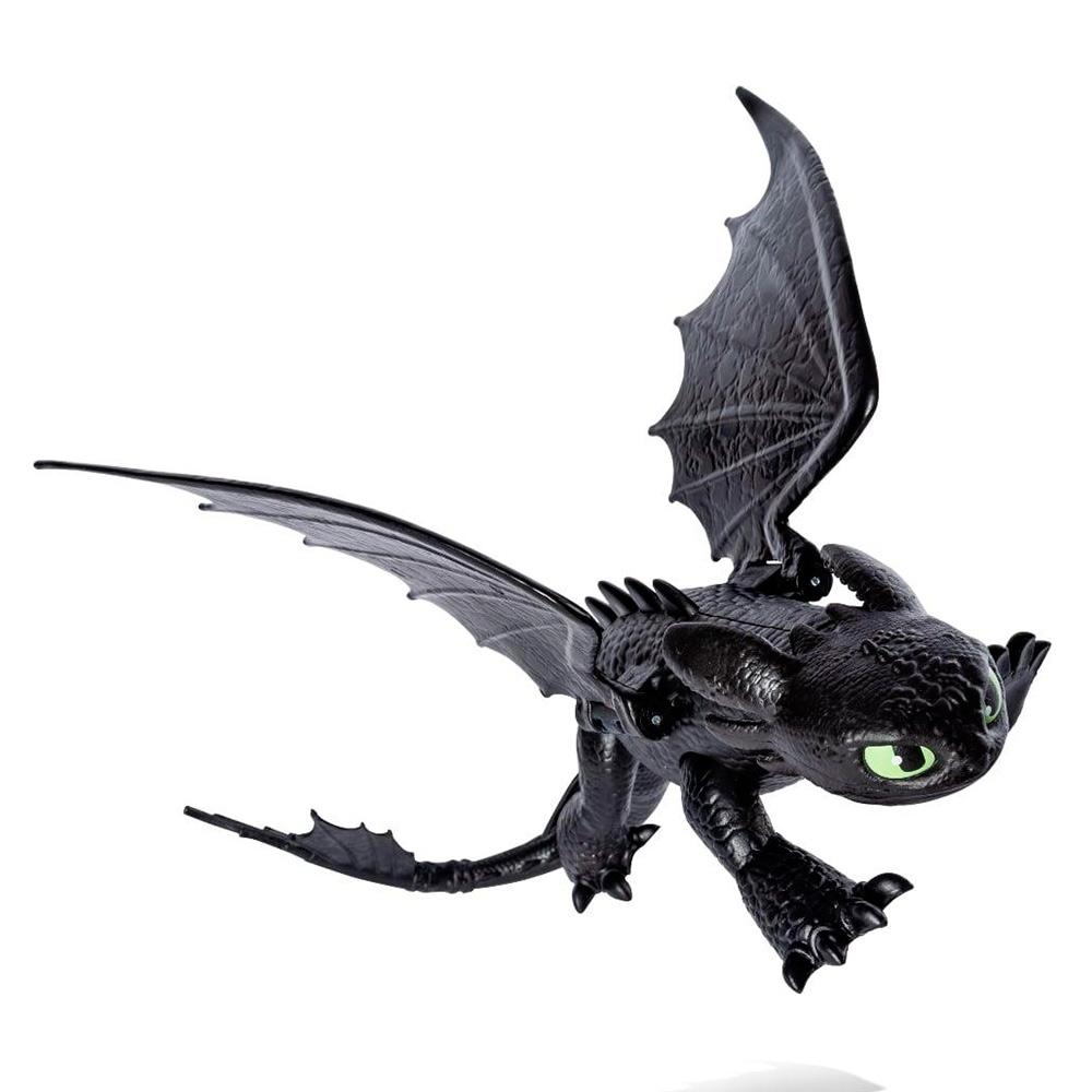 Купить Персонажи мультфильмов, игровые фигурки, Коллекционная фигурка Dragons Как приручить дракона 3 Беззубик (SM66620/2194), Spin Master