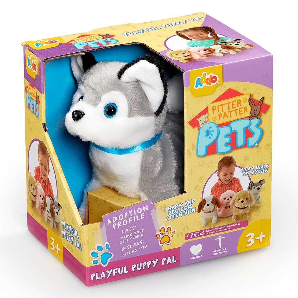 Інтерактивні м які тварини - Інтерактивна м яка іграшка Addo Цуценя сіре  (315 807ed19a77eb2