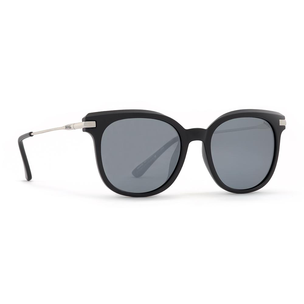 INVU / Солнцезащитные очки Polaroid Вайфареры черные металлическая дуга (2904A_K)