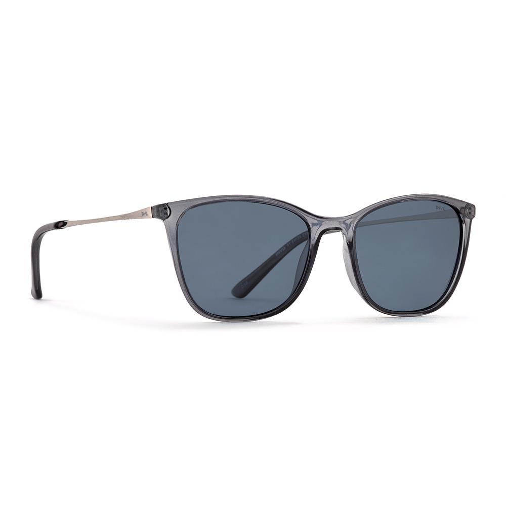 INVU / Солнцезащитные очки Polaroid Вайфареры черные (2907C_K)