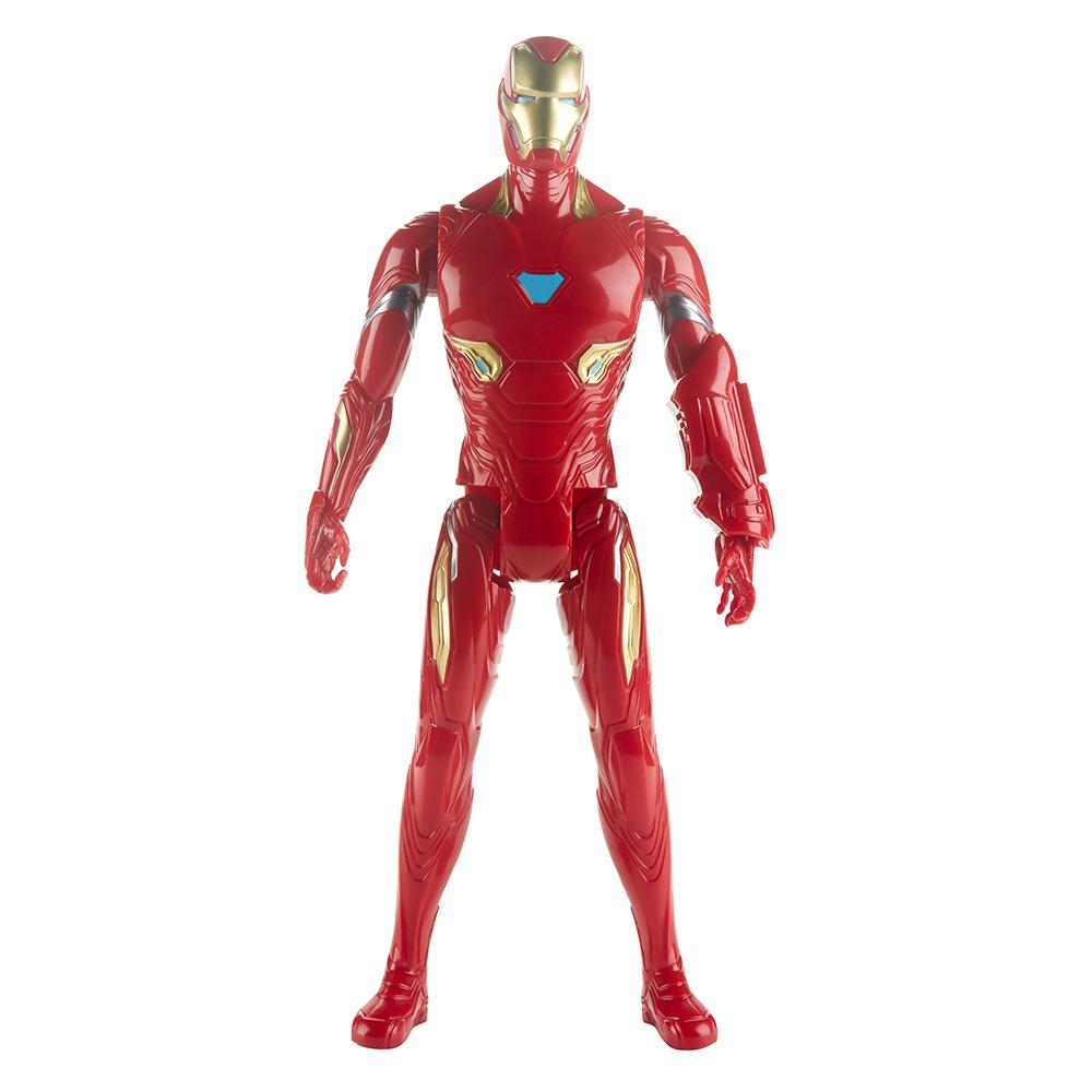 Купить Персонажи мультфильмов, игровые фигурки, Фигурка Avengers Мстители Муви Айрон Мен Герои Титаны (E3309/E3918)