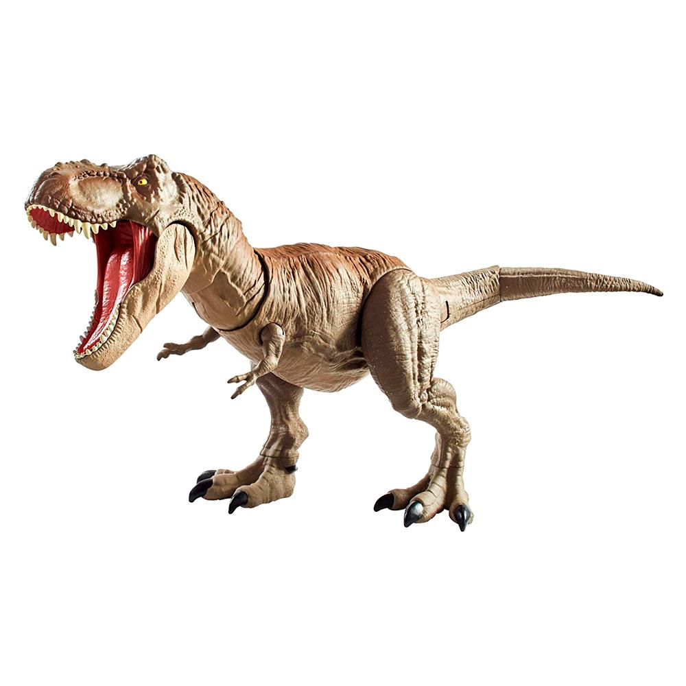 Купить Персонажи мультфильмов, игровые фигурки, Фигурка Jurassic World 2 Bite and Fight Ти-рекс (GCT91), Hasbro