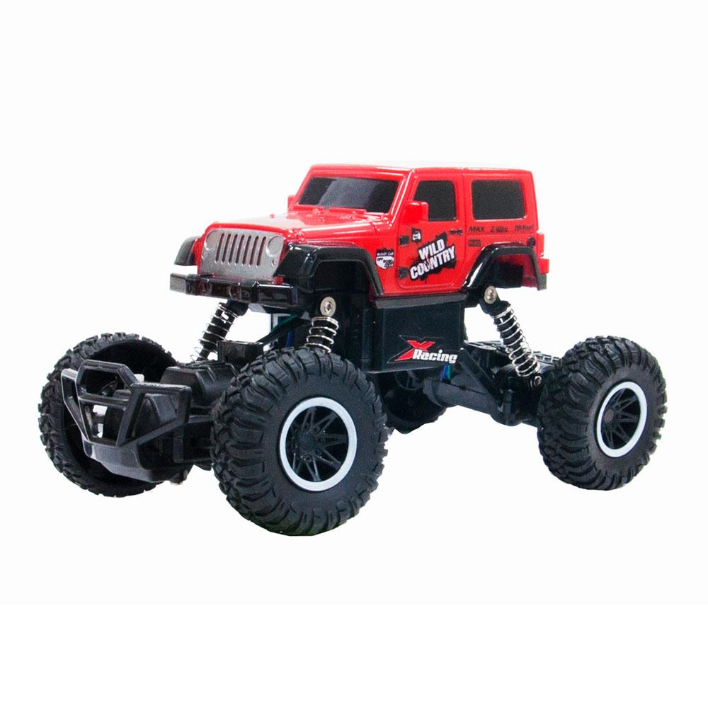 Машинка Sulong Toys Off-road crawler Wild country красная радиоуправляемая (SL-106AR)