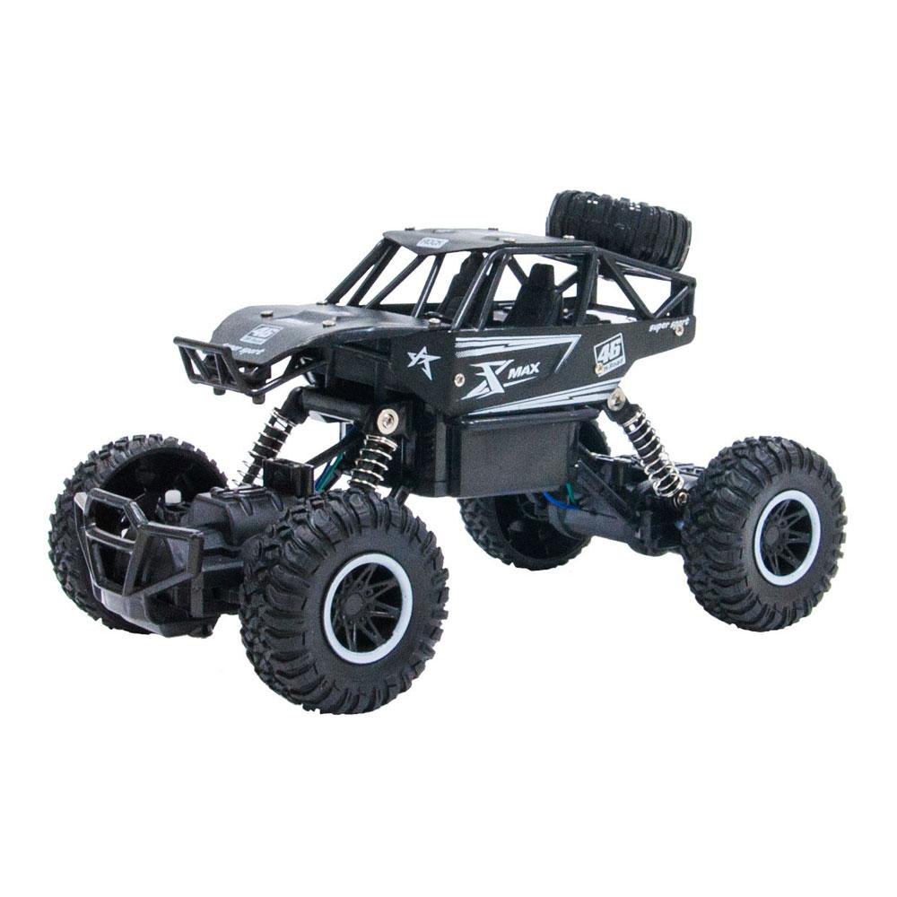 Машинка Sulong Toys Off-road crawler Rock Sport черная радиоуправляемая (SL-110AB)