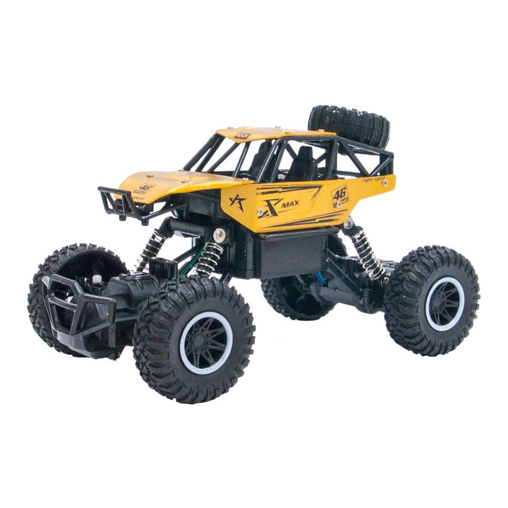 Машинка Sulong Toys Off-road crawler Rock Sport золотая радиоуправляемая (SL-110AG)
