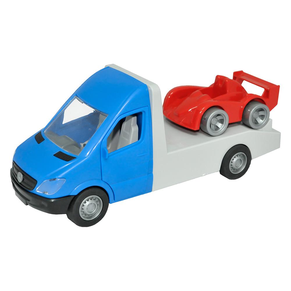 Машинка Тигрес Mercedes-Benz Sprinter Эвакуатор синий (39661)