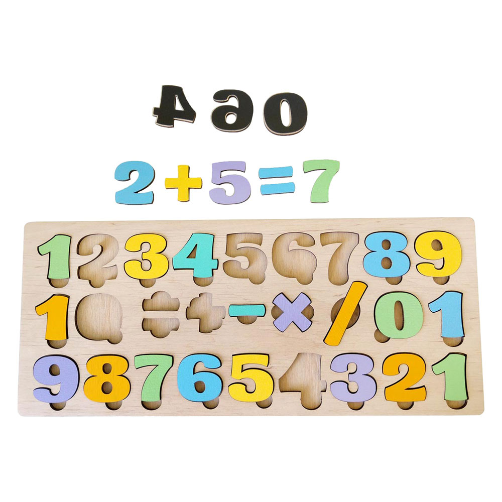 Купить Игрушки для самых маленьких, Сортер Little Panda Цифры магнитный (4823720032283)