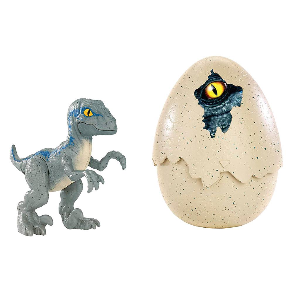 Купить Персонажи мультфильмов, игровые фигурки, Набор Jurassic World 2 Hatch 'N Play Динозавры-детеныши сюрприз (FMB92), Hasbro