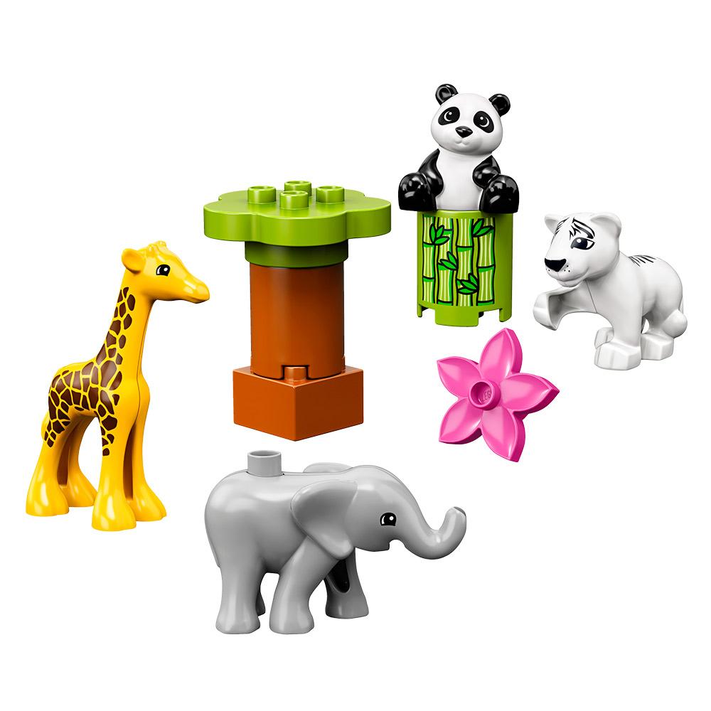 Купить Детские конструкторы, Конструктор LEGO DUPLO Детишки животных (10904)