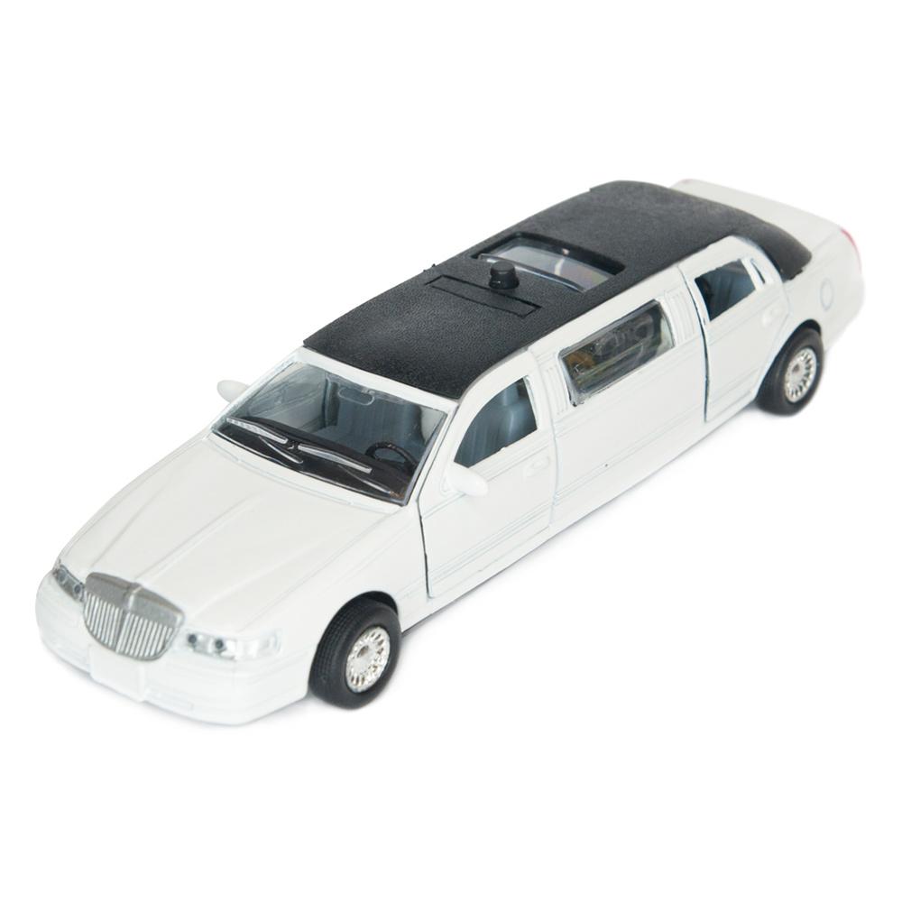 Автомодель Технопарк Лимузин  белый (SL970WN)