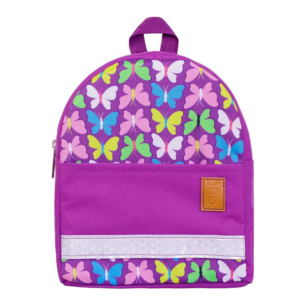 Купить Рюкзаки, Рюкзак Zo Zoo Бабочки фиолетовый непромокаемый (1100612-1), Zo-Zoo