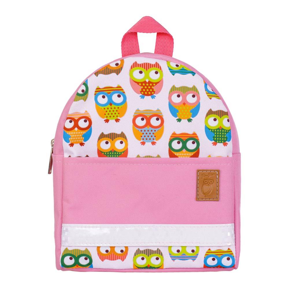 Купить Рюкзаки, Рюкзак Zo Zoo Совы розовый непромокаемый (1100513-1), Zo-Zoo