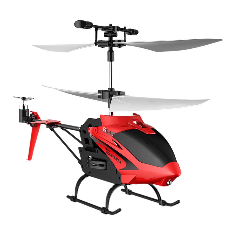 Игрушечный вертолёт  Syma S5H красный радиоуправляемый (S5H/S5H-2)