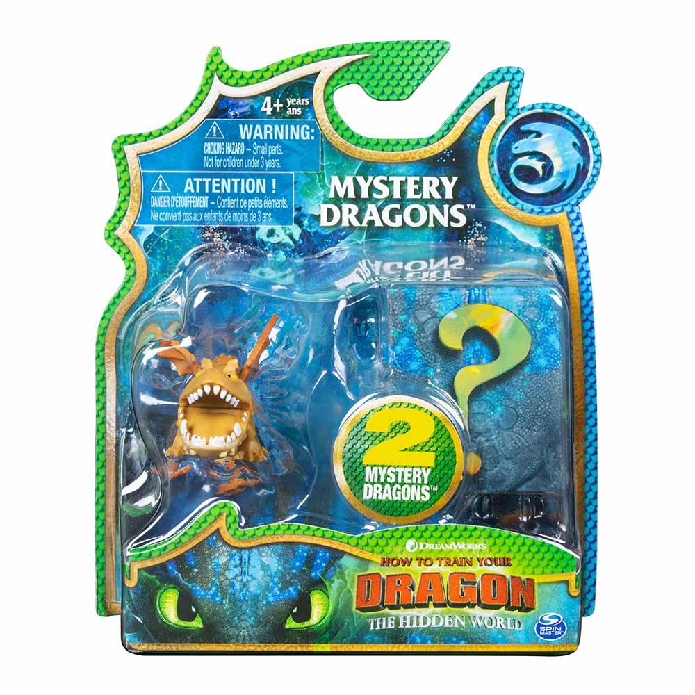 Купить Персонажи мультфильмов, игровые фигурки, Набор Dragons Как приручить дракона 3 Дракон Сарделька и тайный герой (SM66622/5650), Spin Master