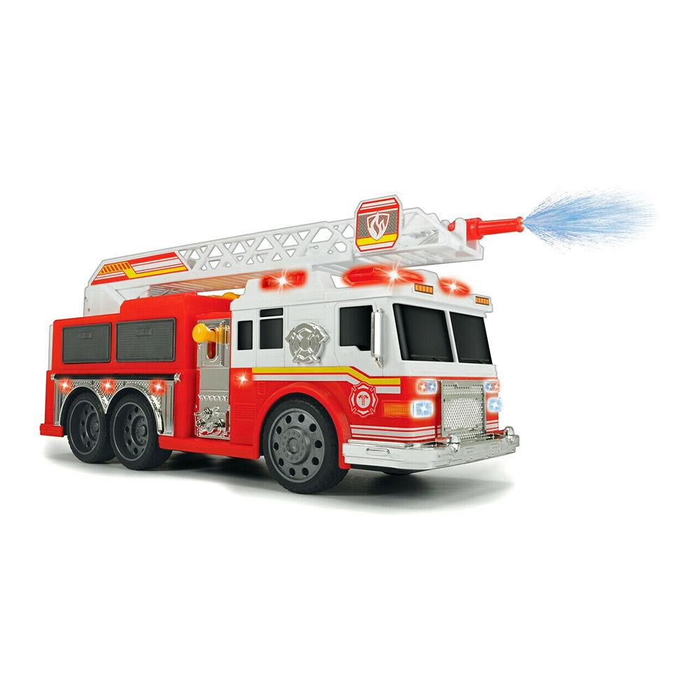Купить Игрушечные машинки, техника, Машинка Dickie toys Action Пожарная служба Командор водомет со светом и звуком (3308377)