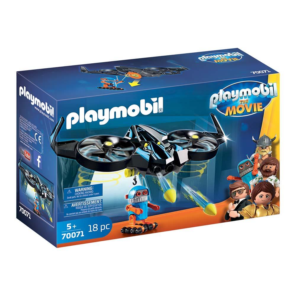 Купить Детские конструкторы, Конструктор Playmobil The movie Роботитрон с дроном (70071)