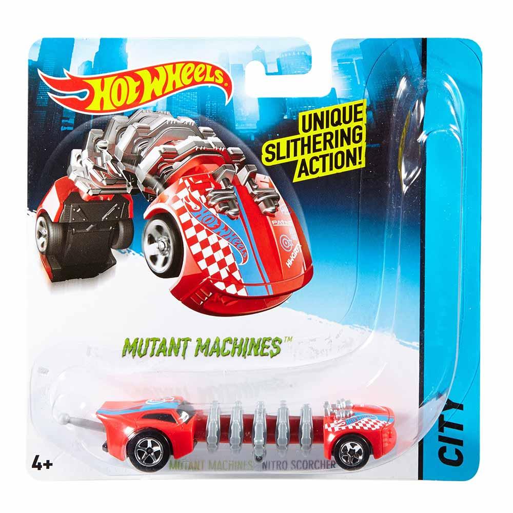 Mattel / Машинка Hot Wheels Мутант Нитро Скордер (BBY78/CGM84)