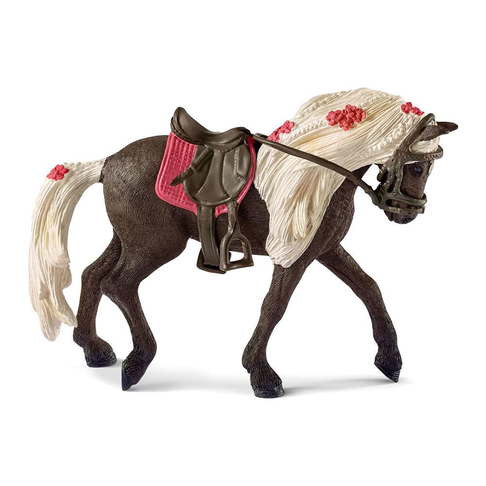 Купить Персонажи мультфильмов, игровые фигурки, Игровая фигурка Schleich Лошадь Скалистых гор (42469)
