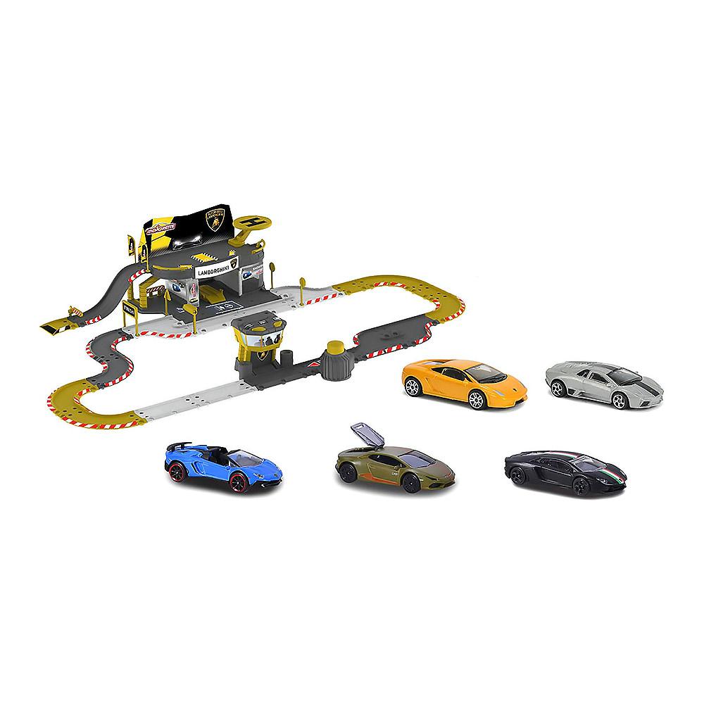 Игровые наборы, Игровой набор Majorette Креатикс трасса ламборгини 5 машинок (2050025)  - купить со скидкой