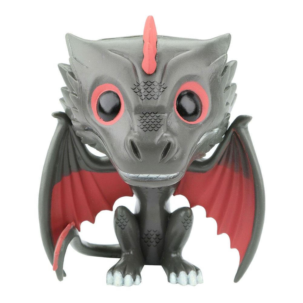 Купить Персонажи мультфильмов, игровые фигурки, Фигурка Funko Pop Game of thrones Дрогон (3873)