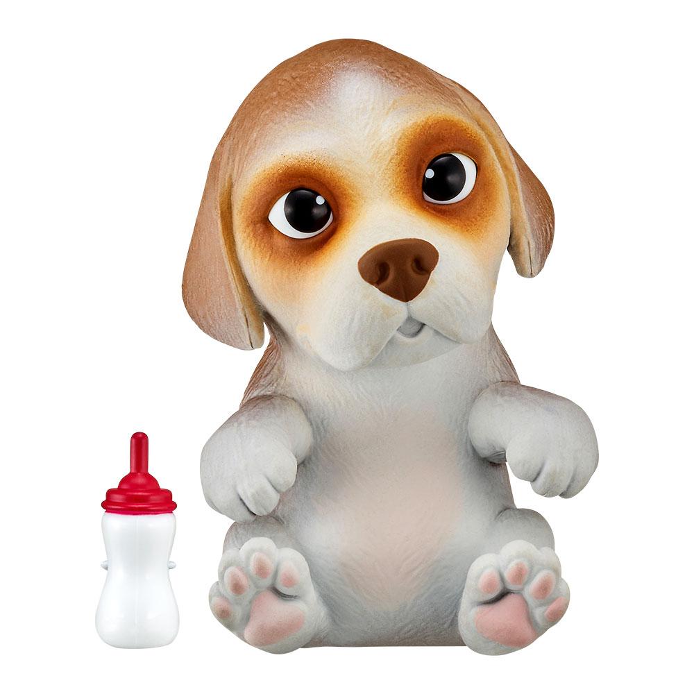 Купить Персонажи мультфильмов, игровые фигурки, Интерактивная игрушка Little live pets Soft hearts Щенок бигля (28918)