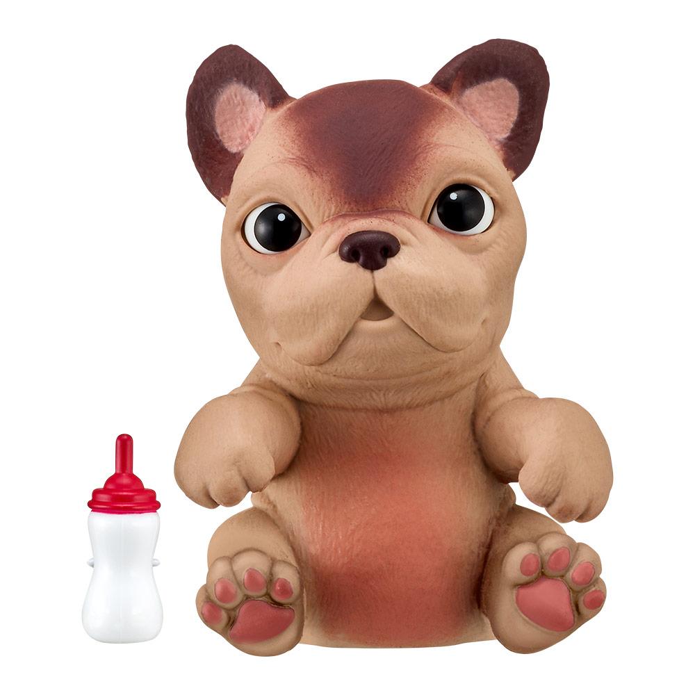 Купить Персонажи мультфильмов, игровые фигурки, Интерактивная игрушка Little live pets Soft hearts Щенок французского бульдога (28917M)