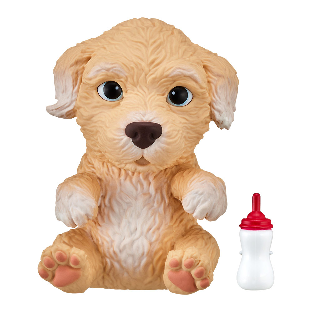 Купить Персонажи мультфильмов, игровые фигурки, Интерактивная игрушка Little live pets Soft hearts Щенок пуделя (28915)