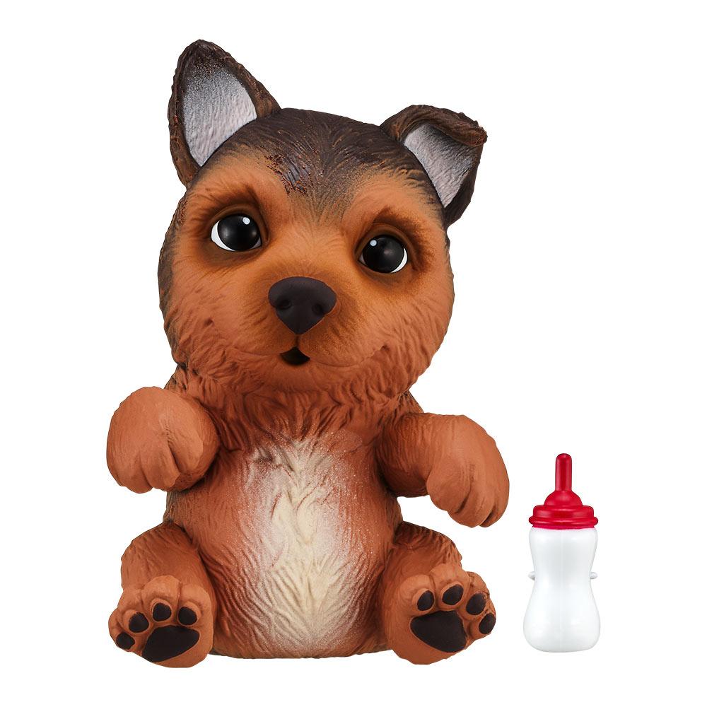 Персонажи мультфильмов, игровые фигурки, Интерактивная игрушка Little live pets Soft hearts Щенок немецкой овчарки (28916)  - купить со скидкой