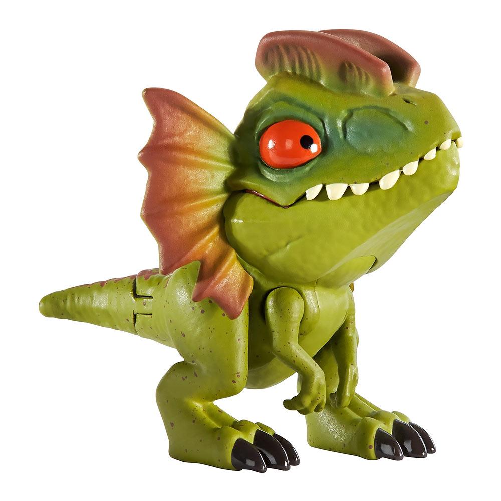 Купить Персонажи мультфильмов, игровые фигурки, Фигурка Jurassic World Snap squad Дилофозавр (GGN26/GGN29), Hasbro