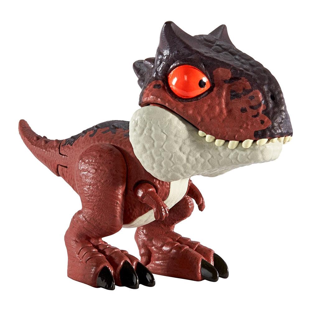 Купить Персонажи мультфильмов, игровые фигурки, Фигурка Jurassic World Snap squad Карнотавр (GGN26/GGN32), Hasbro