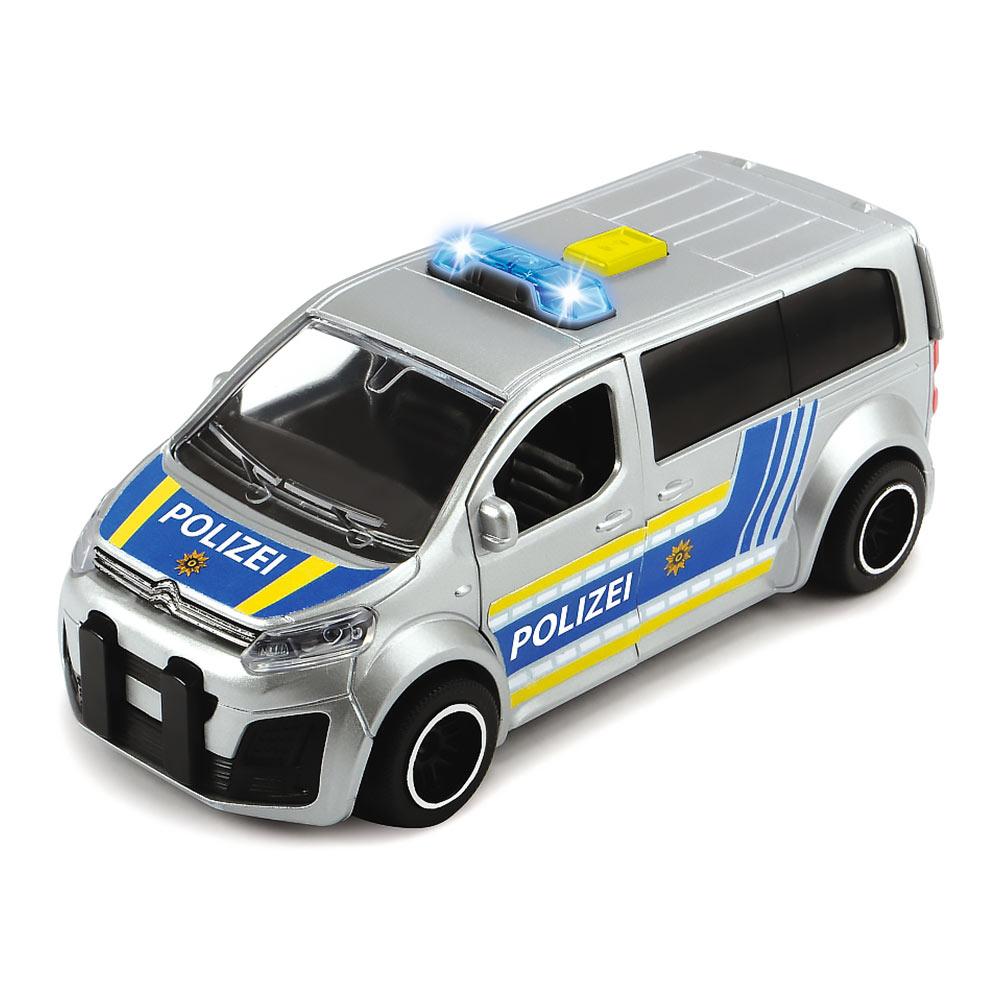 Машинка Dickie Toys SOS микроавтобус полиции Citroen 1:32 с эффектами 15 см (3712014-1)