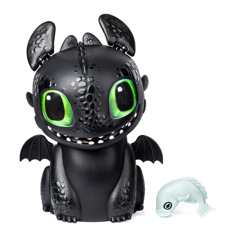 Купить Персонажи мультфильмов, игровые фигурки, Интерактивная игрушка Dragons Как приручить дракона 3 Беззубик в яйце (SM66631), Spin Master