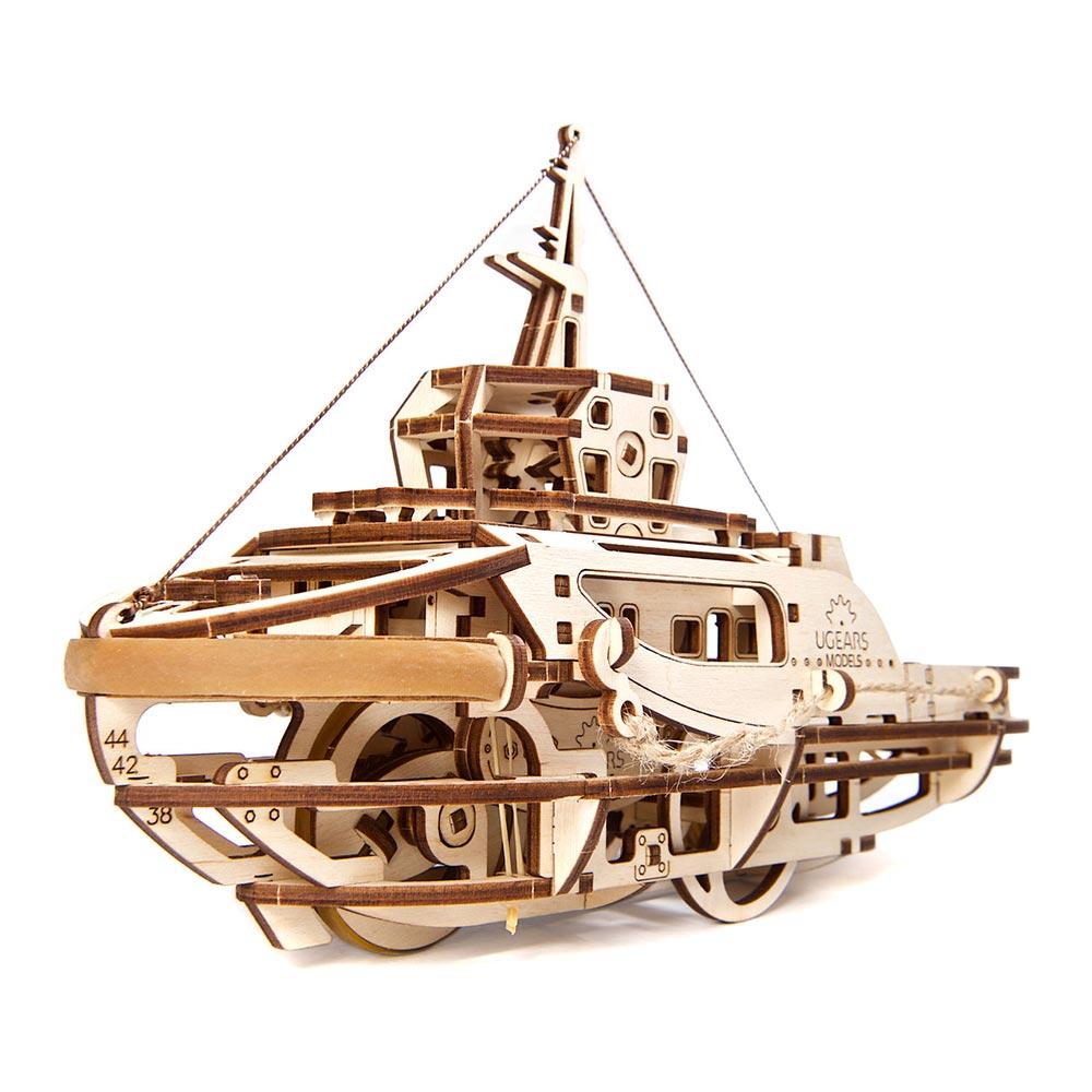 Купить Пазлы, Механический 3D пазл Ukrainian Gears Буксир (70078)