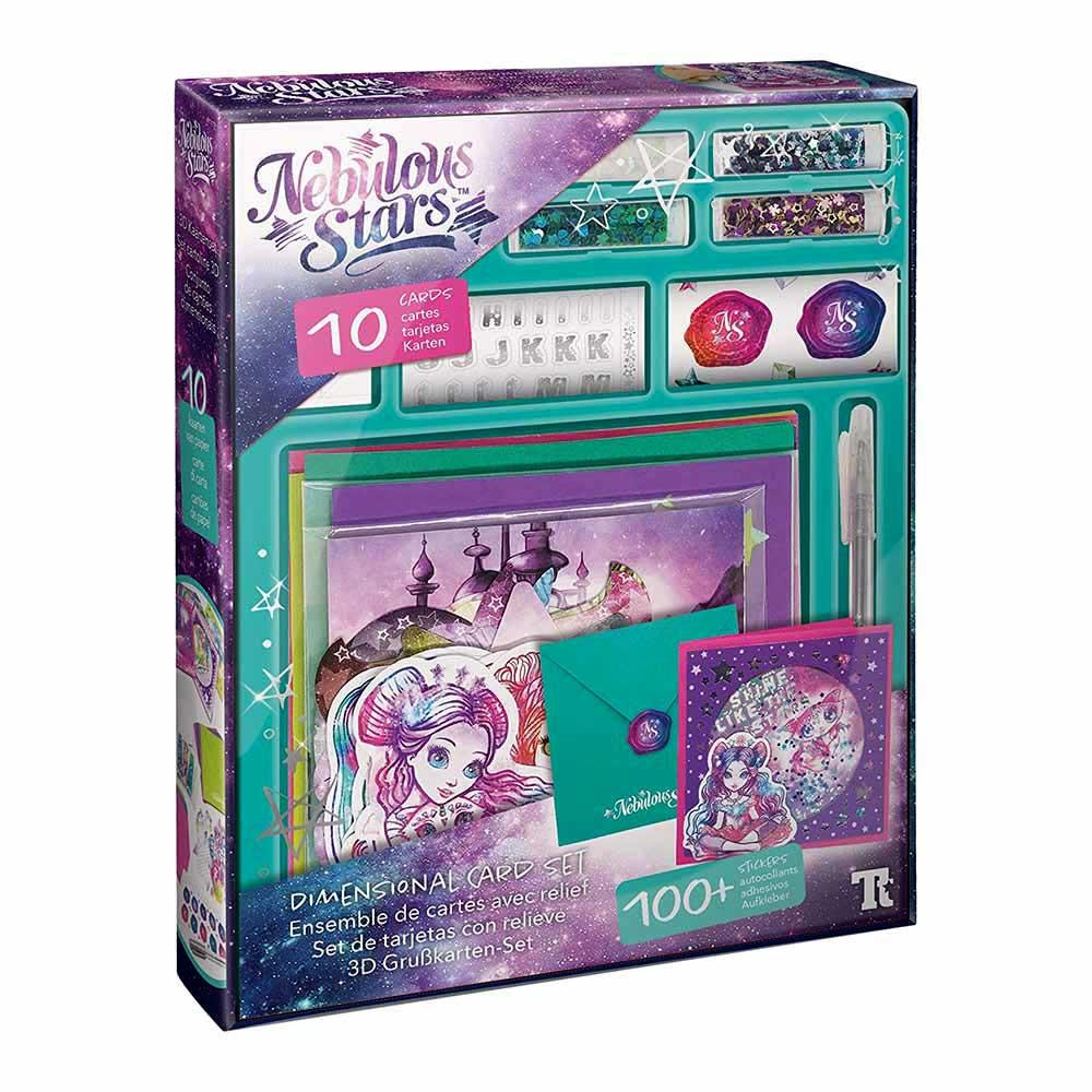 Купить Наборы для творчества и рукоделия, Набор для творчества Nebulous stars Магические открытки (707090)