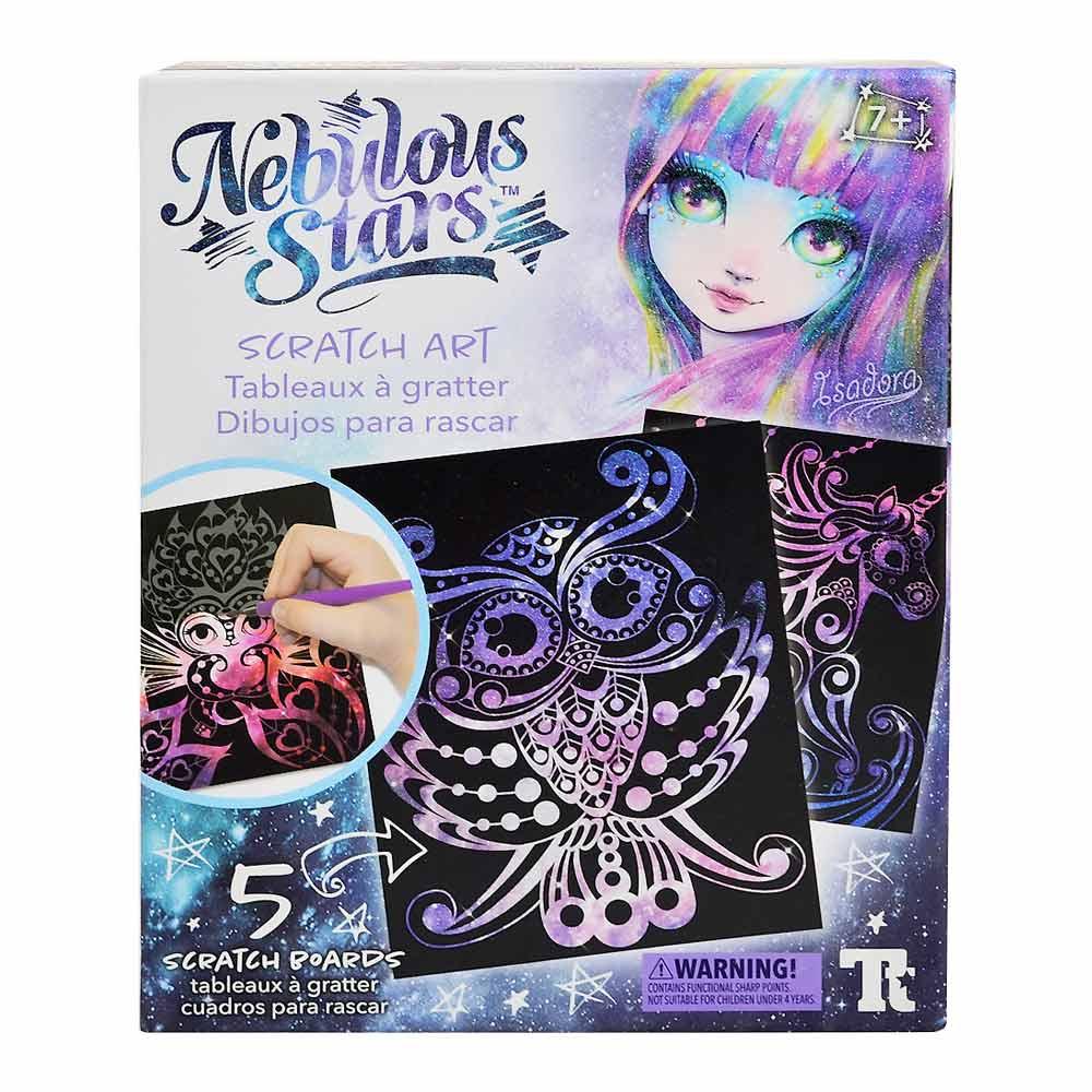 Наборы для творчества и рукоделия, Набор для творчества Nebulous stars Магическая галактика Граттаж (707082)  - купить со скидкой