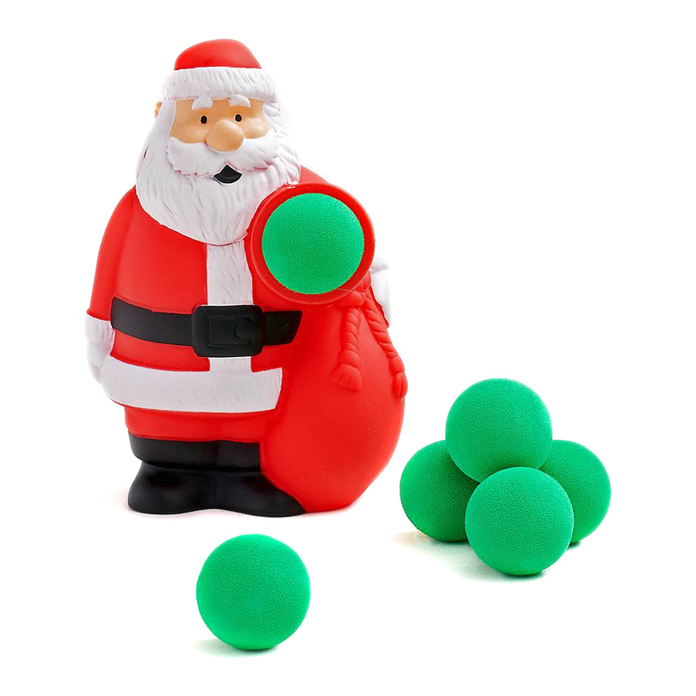 Игровые наборы, Игровая фигурка Squeeze Popper Нажми и стреляй Санта (54511)  - купить со скидкой