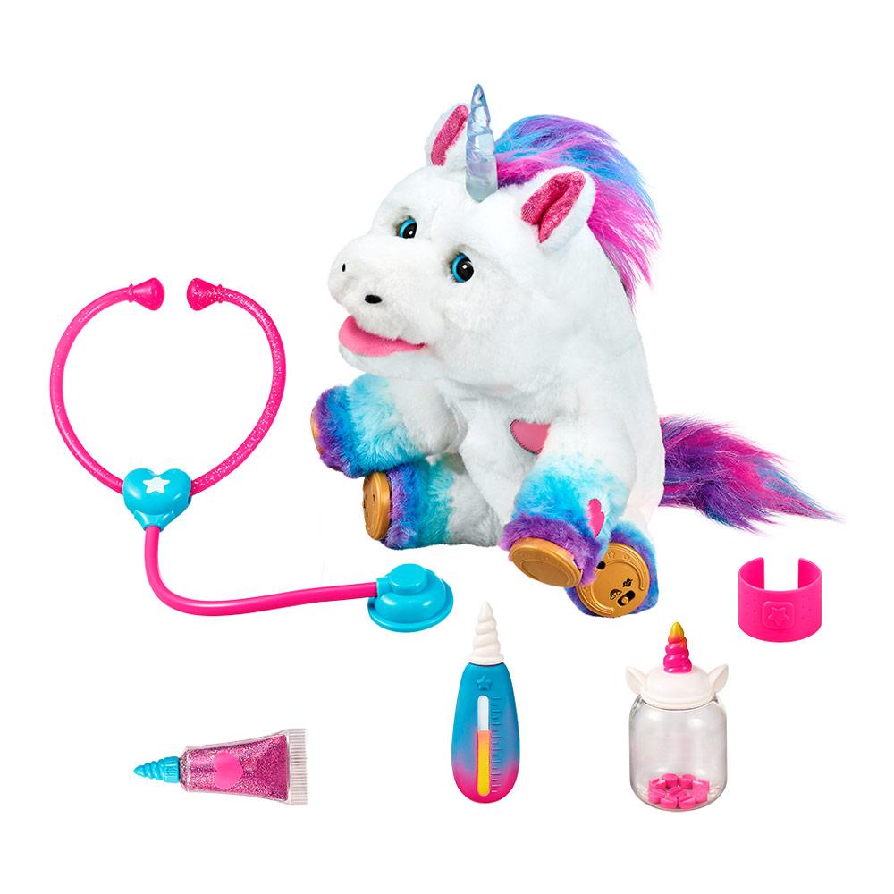 Купить Интерактивные игрушки, роботы, Интерактивная игрушка Little Live Pets Полечи меня Единорог с аксессуарами (28863)